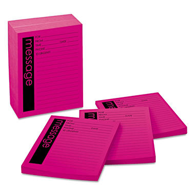 3M Post-It®  Telephone Message Pads