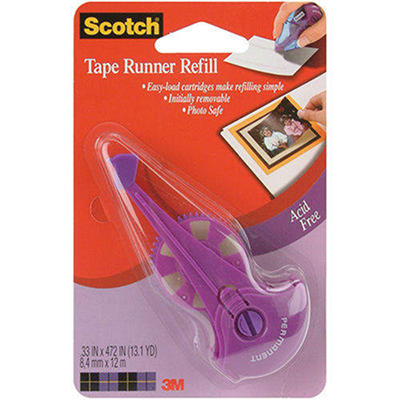 "Scotch Tape Runner Refill - .33"" x 472"""