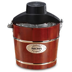 Aroma Traditional Ice Cream Maker  4-Quart