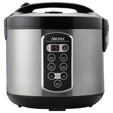 Aroma 20-Cup Sensor LogicRice Cooker & Food Steamer