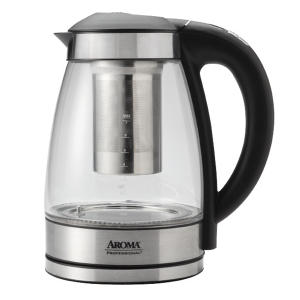 Aroma 1.7L Digital Electric Tea Kettle with Tea Infuser