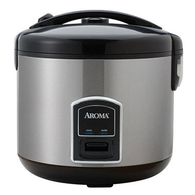 Aroma 20 Cup Rice Cooker & Food Steamer