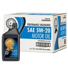 Certified 5W-20 Motor Oil - 1 qt. bottles - 12 pk.