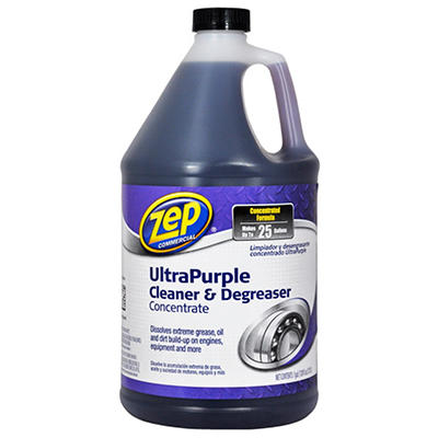 Zep Commercial UltraPurple Cleaner & Degreaser Concentrate - 1 gal.