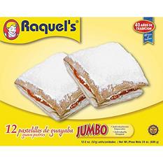 Raquel's Jumbo Guava Pastries - 1.5 oz. - 12 pk.