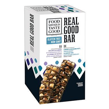 Food Should Taste Good Real Good Bar (18 ct.)