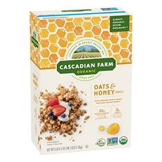 Cascadian Farm Organic Oats & Honey Granola (48.5 oz.)