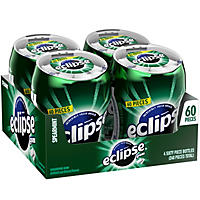 Eclipse Spearmint Sugar-free Gum (4 bottles)