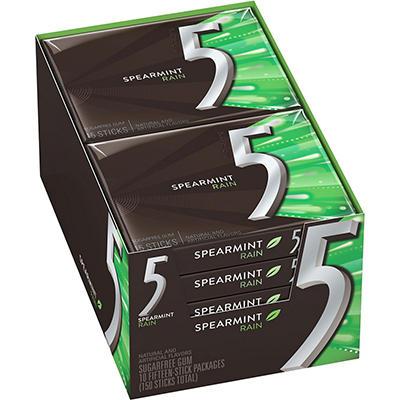 5 Rain Gum - 10 pack tray