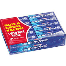 Winterfresh Twin Box - 40 ct.
