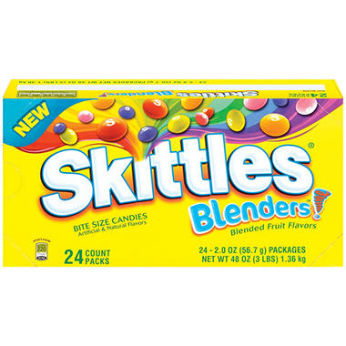 Skittles® Blenders™ Bite Size Candies - 20 oz. - 24 ct.