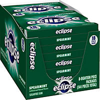 Eclipse Spearmint Split Pack (18 pc. pks., 8 ct.)