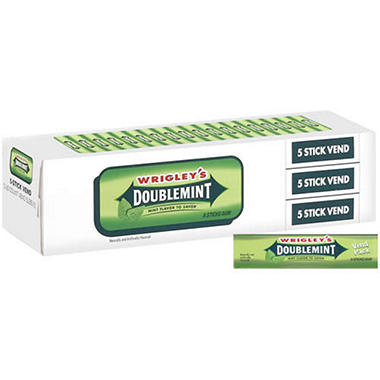 Wrigley's™ Doublemint® Vend Pack - 3/20ct