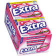 Extra® Classic Bubble Sugarfree Gum - 15 piece pks. - 10 ct.