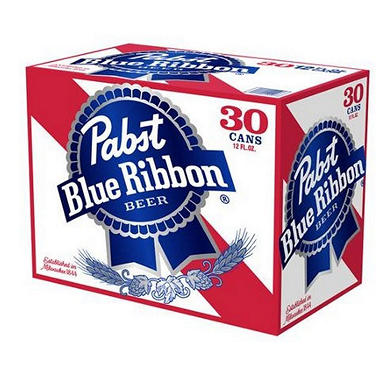 PABST BLUE RIBBON 30 / 12 OZ CANS
