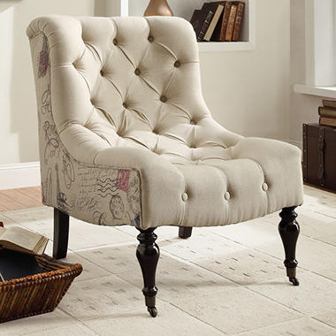 Anya Tufted Accent Chair