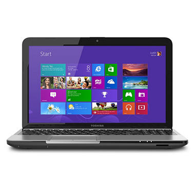 "*$494 after $100 Instant Savings* Toshiba Satellite L855 15.6"" Laptop Computer, Intel Core i5-3230, 6GB Memory, 640GB Hard Drive"