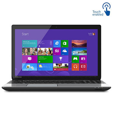 "Toshiba Satellite L55t-A 15.6"" Touch Laptop Computer, Intel Core i7-4700MQ, 8GB Memory, 1TB Hard Drive"