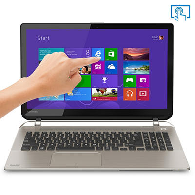 "Toshiba Satellite S55T-B5232 15.6"" Touch Laptop Computer, Intel Core i5-4210U, 8GB Memory, 1TB Hard Drive"