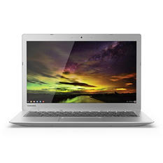 "Toshiba PLM02U-009008 13.3"" Chromebook. Intel Celeron Processor N2840, 4GB system memory, 16 GB Flash Memory"