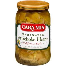 Cara Mia Marinated Artichoke Hearts - 62 oz.