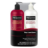 TRESemme Keratin Smooth Shampoo & Conditioner (32 fl. oz., 2 pk)