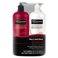 TRESemme Keratin Smooth Shampoo & Conditioner (32 fl. oz., 2 pk)