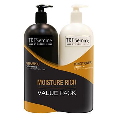 TRESemmé Shampoo & Conditioner Value Pack -  Moisture Rich  -  44 oz. each