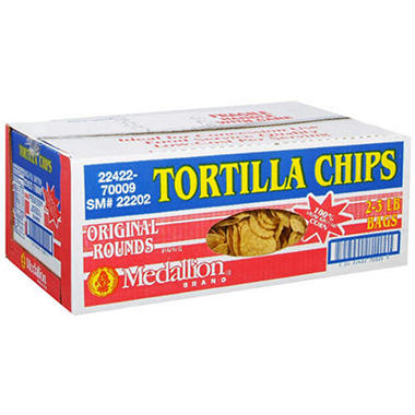 Medallion® Brand Tortilla Chips - 3 lb. - 2 ct.