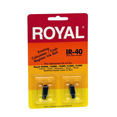 Royal Cash Register Ink Rolls - 2 pk.