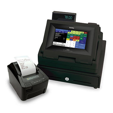 "Royal 9"" Touch Screen Cash Register"