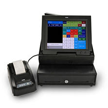 "Royal TS1200MW - 12"" Touch Screen Cash Register"
