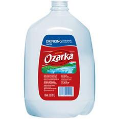 Ozarka 100% Natural Spring Water (1 gal., 6 pk.)