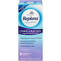 Replens Long-Lasting Vaginal Moisturizer (8 Prefilled Applicators)