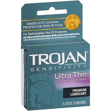 Trojan® Ultra Thin - 6/3ct