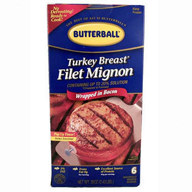 Butterball® Turkey Mignons - 6 ct.