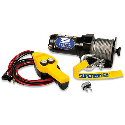 Superwinch 12 Volt DC Utilty Winch with 8' Remote - 2,000 lb Capacity
