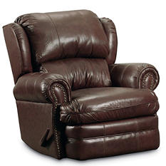 Lane Furniture McNeil Top-Grain Leather Rocker Recliner