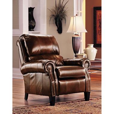 Lane Furniture Camron Leather High Leg Recliner Sam S Club