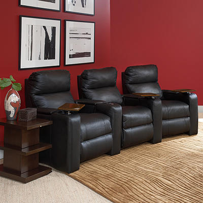 Enzo Power Reclining Home Theater Set - 3 pc.