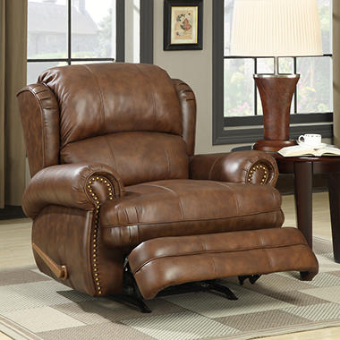 Lane Dudley Leather Rocker Recliner