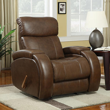 Lane Billings Leather Rocker Recliner