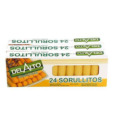 Sorullitos Del Alto Corn Sticks - 3/24 ct.
