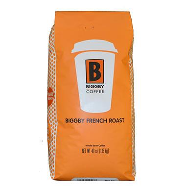 Paramount Coffee Biggby French Roast  Bean - 40 oz.