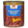 Brooks® Chili Hot Beans - 6 lb. 15 oz. can