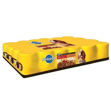 Pedigree Choice Cuts Dog Food - 24 pk.
