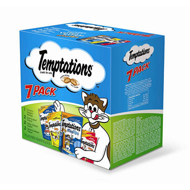 Whiskas Temptations Cat Treats - 7 pk.