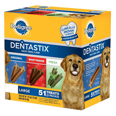 Pedigree Dentastix Variety Pack - 51 ct.