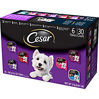 Cesar Canine Cuisine Wet Dog Food, Variety Pack ( 3.5 oz., 30 ct.)