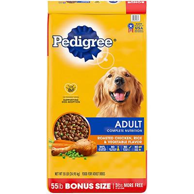 Pedigree Adult Complete Nutrition - 55 lbs.
